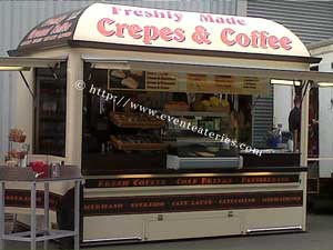 Crepes and Coffee trailer